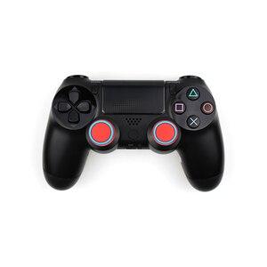 Image 4 - 4 sztuk silikonowe analogowe Thumb Stick uchwyty pokrywa dla PS4 kontroler nakładki na palce dla PS4 Pro Gamepad dla Xbox One dla Xbox 360