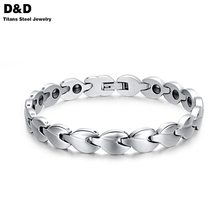 Cool Health bracelets for men&women jewelry wholesale stainless steel charm bracelet with Germanium jewelry BR-081