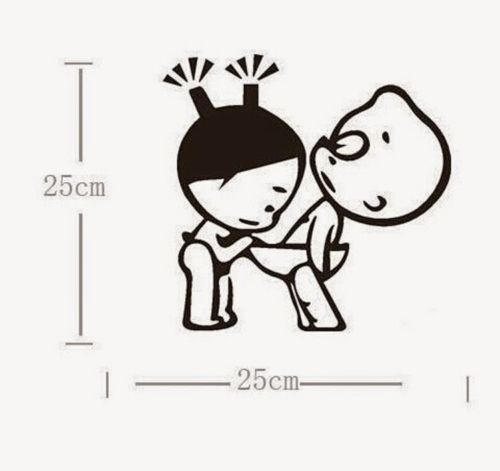cartoon toilet sticker silhouette portrait wc wallpaper small bathroom  decor china things in Wall Stickers from Home   Garden on Aliexpress com    Alibaba. cartoon toilet sticker silhouette portrait wc wallpaper small