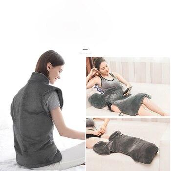 Shoulder Back Warm Moxibustion Apparatus Wormwood Hot Compress Cervical Vertebra Heating Bag Health Care