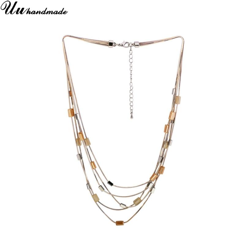 Déclaration rétro acrylique bijoux choker collier pendentif personnalisé en gros accessoires MOQ120 temps d'expédition est d'environ 25 jours