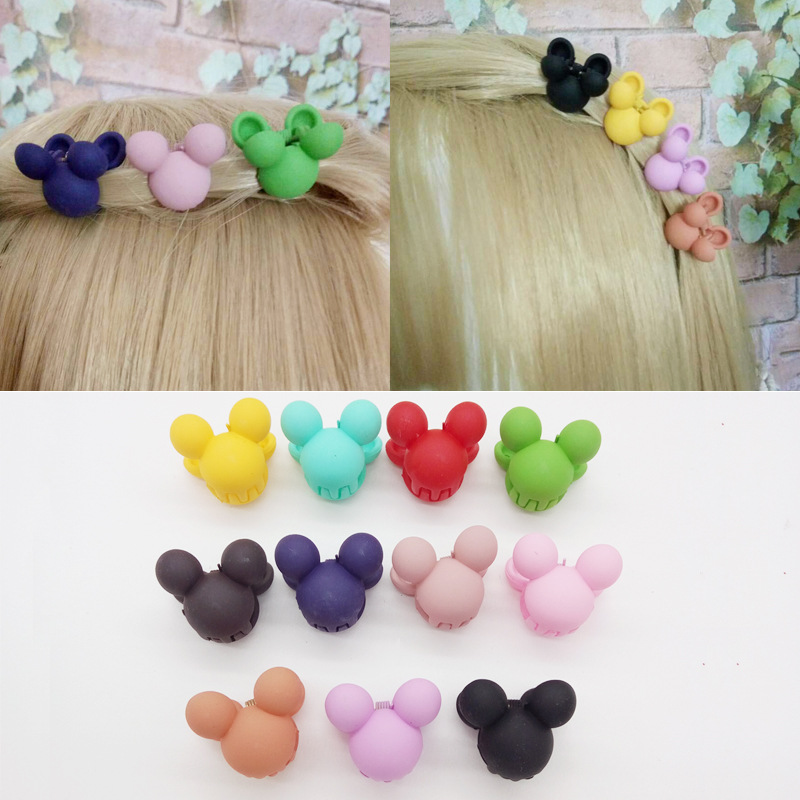 Candy Colors Baby Girls Hair Accessories Hair Clip Bangs Small Hair Claws Children Hairpin Small Gripper Toddler Kids Lovely 5 pcs lot hot sale korean hair accessories candy colors small flower hair claws gripper cute kids girls plastic hairpins