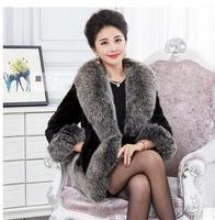 Female Imitation Fur Coats Plus Size Short Section Womens Casual Fur Jackets Casacos De Inverno Feminino Faux Fur Jacket K427