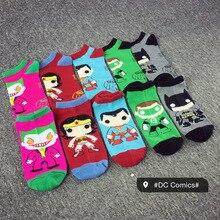 New comfortable cotton personalized socks Marvel fashion classic socks men and women wild cartoon socks