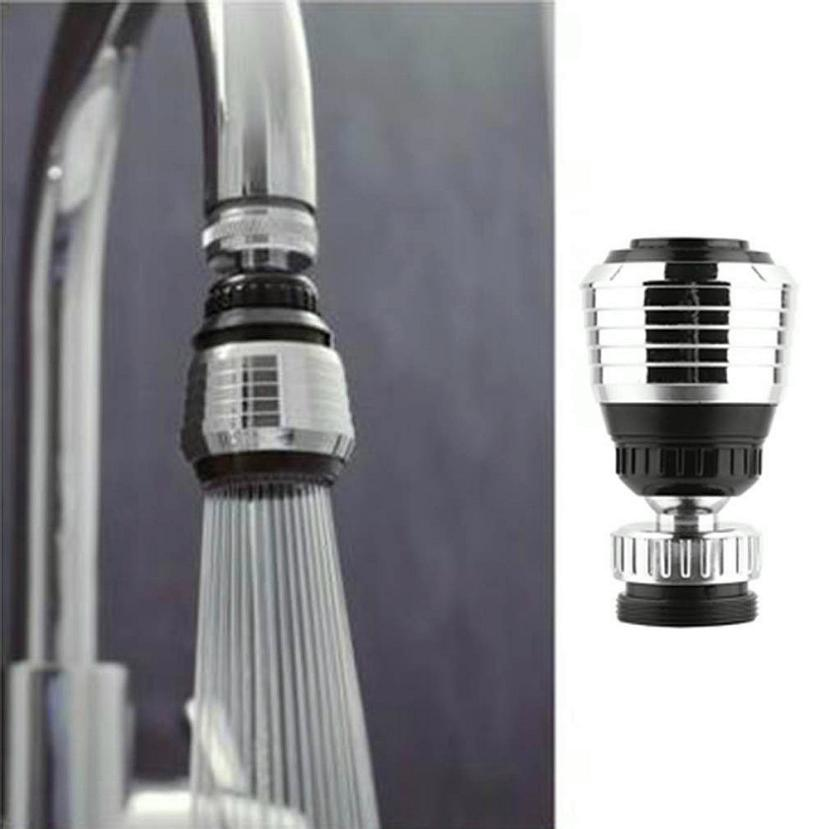 360 Rotate Swivel Faucet Nozzle Water Filter Adapter Water Purifier Saving Tap Aerator Diffuser Kitchen Accessories