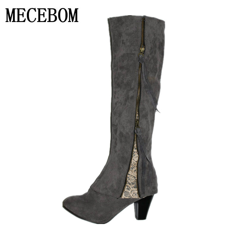 Online Get Cheap Blue Suede Boots for Women -Aliexpress.com ...