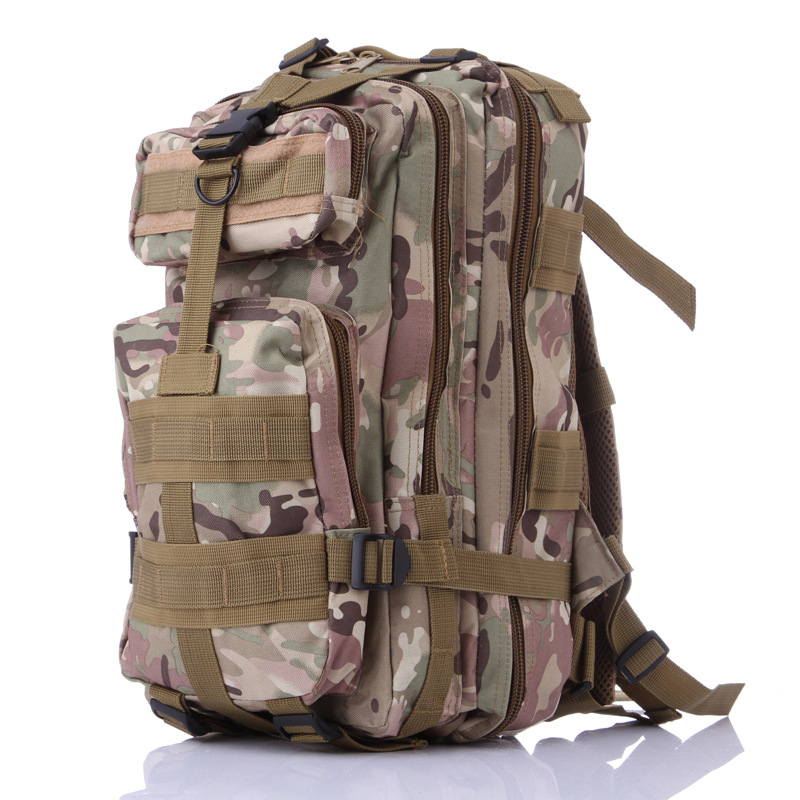 Waterproof nylon outdoor molle military climbing backpack army bags camping hiking bags mountaineering tactical bag