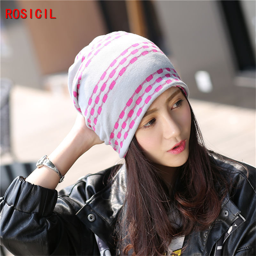 ROSICIL 2017 fashion Ladies knitted hat women winter beanies hats for women's skullies caps girl cap gorros balaclava rosicil skullies beanies winter hats for women letter beanies women hip hot caps skullies girls gorros women beanies female