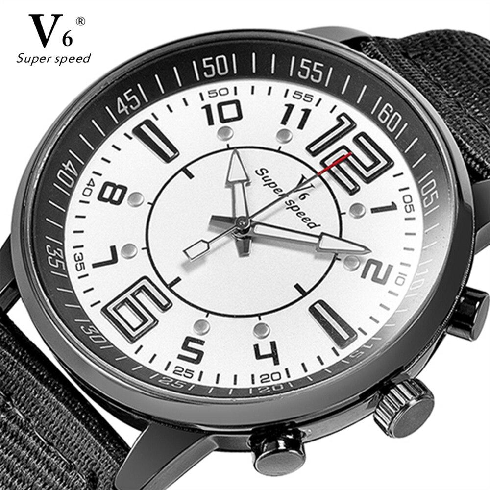 Relojes de los hombres de alta calidad de primeras marcas v6 reloj de - Relojes para hombres