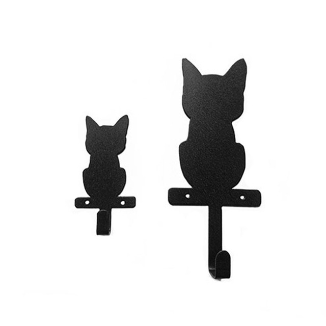 Buy original cat design wall hook cute Cute coat hooks