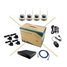 2.0MP HD WiFi wireless surveillance camera P2P infrared IP 8CH NVR Onivf H.264 CCTV security system