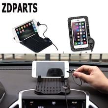 ZDPARTS Car Anti-skid Pad Non-slip Mat Phone Holder Charger For Audi A3 A4 B7 B8 B6 A6 C6 C5 Q5 VW Passat B5 B6 B7 Golf 4 7 6 T5