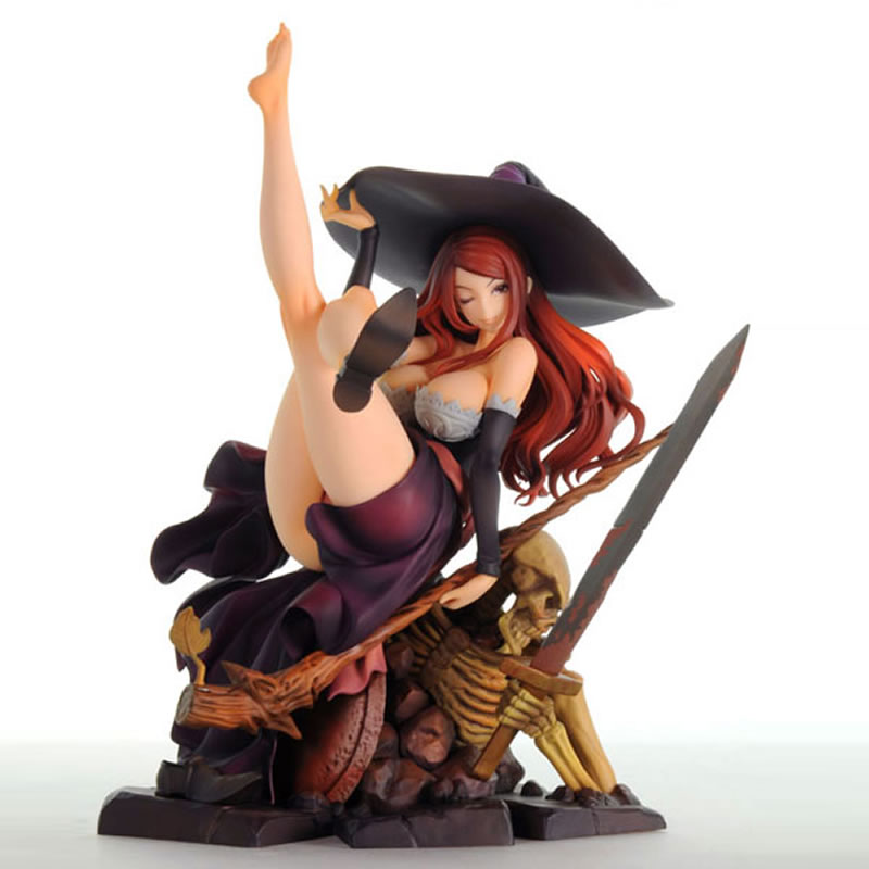 1/7 Scale Dragons Crown Sorceress  Resin Complete Figure GK model figure Collection anime figures 1/7 Scale Dragons Crown Sorceress  Resin Complete Figure GK model figure Collection anime figures
