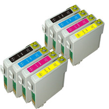 8 Ink Cartridges T0711 T0712 T0713 T0714 for stylus D120 D78 D92 S20 S21Inkjet Printer