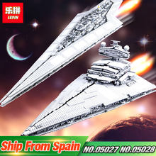 DHL LEPIN 05027 05028 Star Toys Wars The 10030 10221 Star Destroyer Set Model Building Blocks Bricks Kids Toys Christmas Gifts(China)