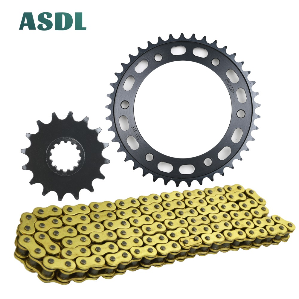 Motorcycle Best Motor 16T Front 41T Rear Sprocket Chain Set With 525 Kits For HONDA CBR600 RR CBR 600 2013 2014 2015 2016