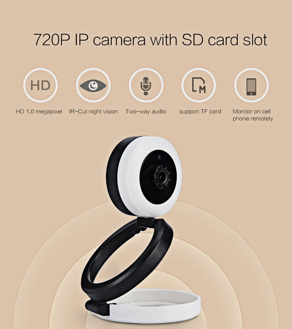 EasyN 1.0MP H.264 CMOS Infrared Wireless Indoor 720P IP Camera Surveillance Camera CCTV Baby Camera For Home With SD Card Slot easyn a115 hd 720p h 264 cmos infrared mini cam two way audio wireless indoor ip camera with sd card slot ir cut night vision