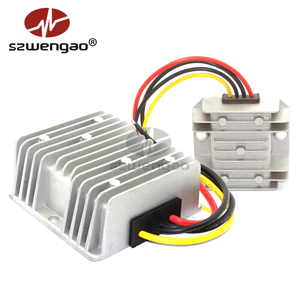 SUPERNIGHT DC DC Regulador DC DC Buck Converter Voltage Reducer Converter 48V to 12V 10A 120W
