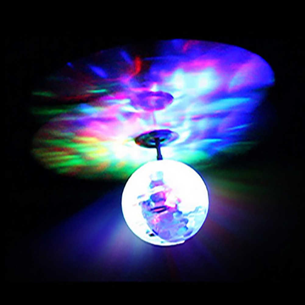 Kinder Outdoor Aircraft Spielzeug Fliegen RC spielzeug Elektrische Ball LED Blinklicht Flugzeug Hubschrauber Induktion Spielzeug Geist Control Spielzeug