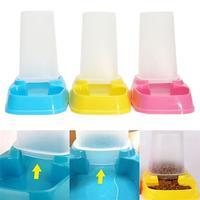 New Design Automatic Pet Bowl Cat Dog Rabbit Food Water Feeder Dispenser Drink Dish Travel Utensils