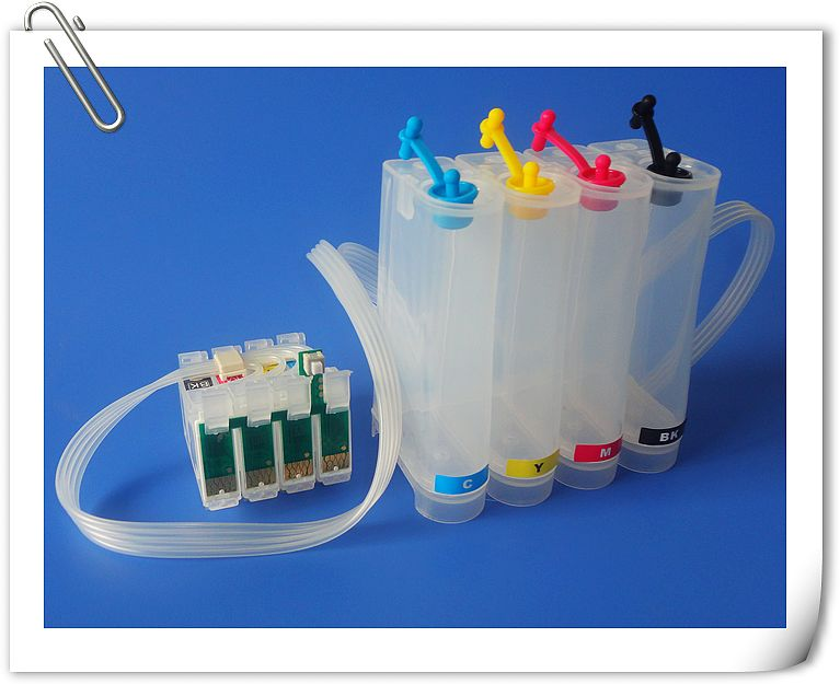 T1811-T1814 Chip Continuous Ink Supply System for printer WF7611 CISS (empty ) XP-202/205/30 XP-302/305 XP402/405/215/312/415