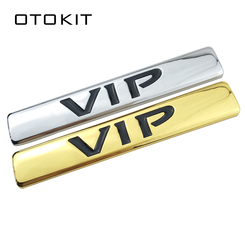 Motorcycle Metal VIP Emblem Badge Decal Car Sticker for Teana Peugeot Bmw Ford Focus KIA MAZDA TOYOTA HONDA Car Side Decoration