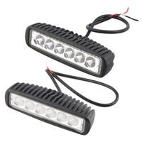 New 1550LM Mini 18W 6 LED Light Bar Worklight Spotlight Hot Selling