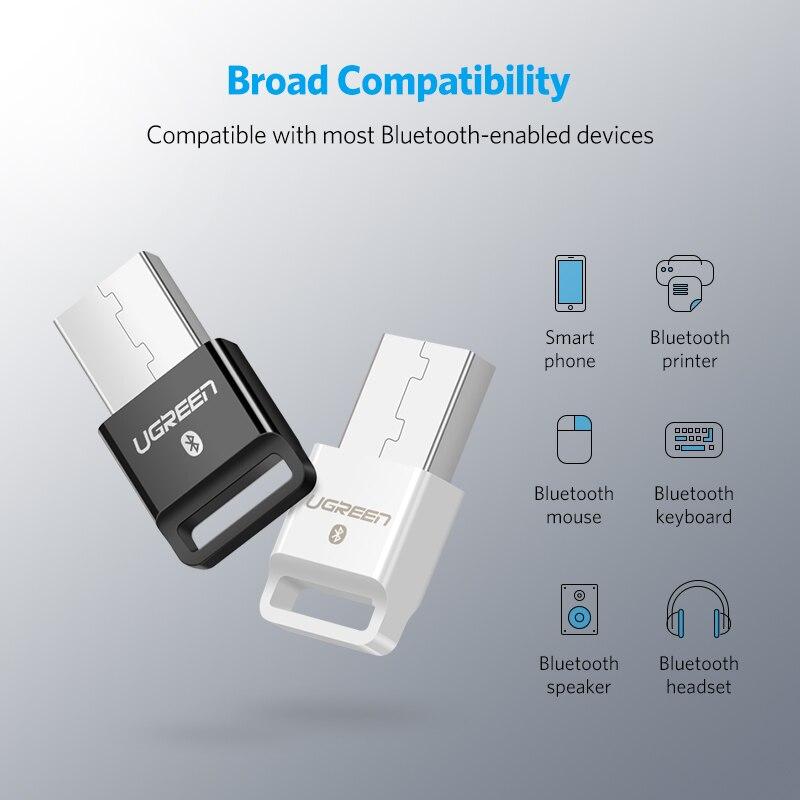 Ugreen USB передатчик Bluetooth приемник 4,0 адаптер ключ aptx беспроводные наушники ПК музыкальный рецептор аудио Bluetooth адаптер