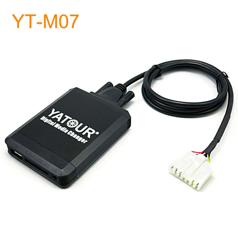 Yatour Car MP3 USB SD CD Changer for iPod AUX with Optional Bluetooth for Lexus IS200