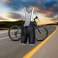 Elephant Cycling Bib Shorts Men's 2019 Summer Coolmax 3D Gel Pad Bike Bib Tights Breathable Quick Dry Italian non slip bar leg