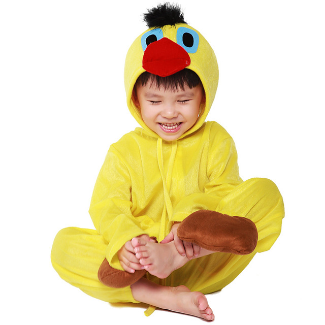 Animal Costumes Children Little Bird Chick COS Costume Halloween Cosplay Kids Disfraces Masquerade Conjoined Clothes 5042H177467  sc 1 st  AliExpress.com & Animal Costumes Children Little Bird Chick COS Costume Halloween ...
