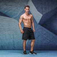 2017 Hot Sale Athletics Comfortable Shorts Man Loose Short Style Casual Solid Trousers Men Clothes Free