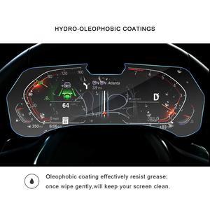 Image 2 - RUIYA מסך מגן עבור BMW X5 G05 LCD מכשיר פנל מסך, 9 שעתי מזג זכוכית מגן הגנה מפני נזק יומי