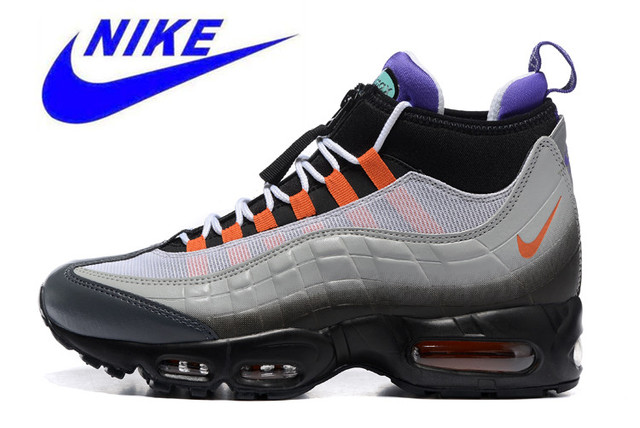 pretty nice 33686 88f9c NIKE AIR MAX 95 SNEAKERBOOT Mens Running Shoes,Outdoor Sneakers Shoes,  Abrasion Resistant, Shock Absorption Non-slip 806809-078