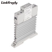 цена на TRA23D40M Integrated Heat Sink SSR Solid State Relay Din Rail 40A DC AC 3V 5V 12V 24V 32VDC Input 24-480VAC Ouput  Trigger Relay