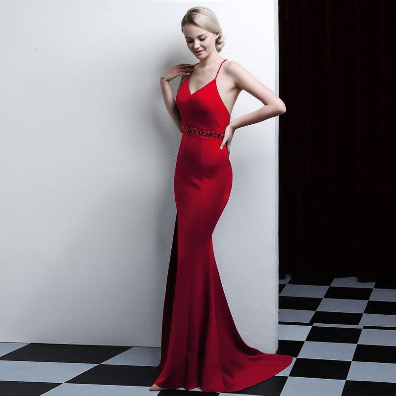Spaghetti ivoire Longueur Satin Bretelles Longue Noir Haut rouge Étage D081 Mode Parti Bleu bourgogne Rouge De Sexy Femmes blush vert Gamme marine Robe N0nmw8v