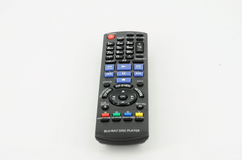 General Replacement <font><b>Panasonic</b></font> N2qakb000086 <font><b>DVD</b></font> / <font><b>BLU</b></font> <font><b>RAY</b></font> Remote Control Dmpb500 Dmpb500p