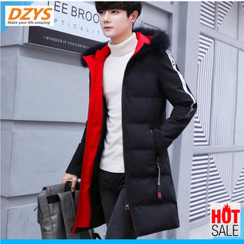 DZYS Winter Coat Cotton Man 2018 new trend students medium and handsome down tide brand YH cotton-padded jacket