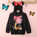 Lovely Girls Boys Long Sleeved Drop Shipping Brand New Autumn Spring girls Minnie girls and Mickey boys Hoodies clothing sets