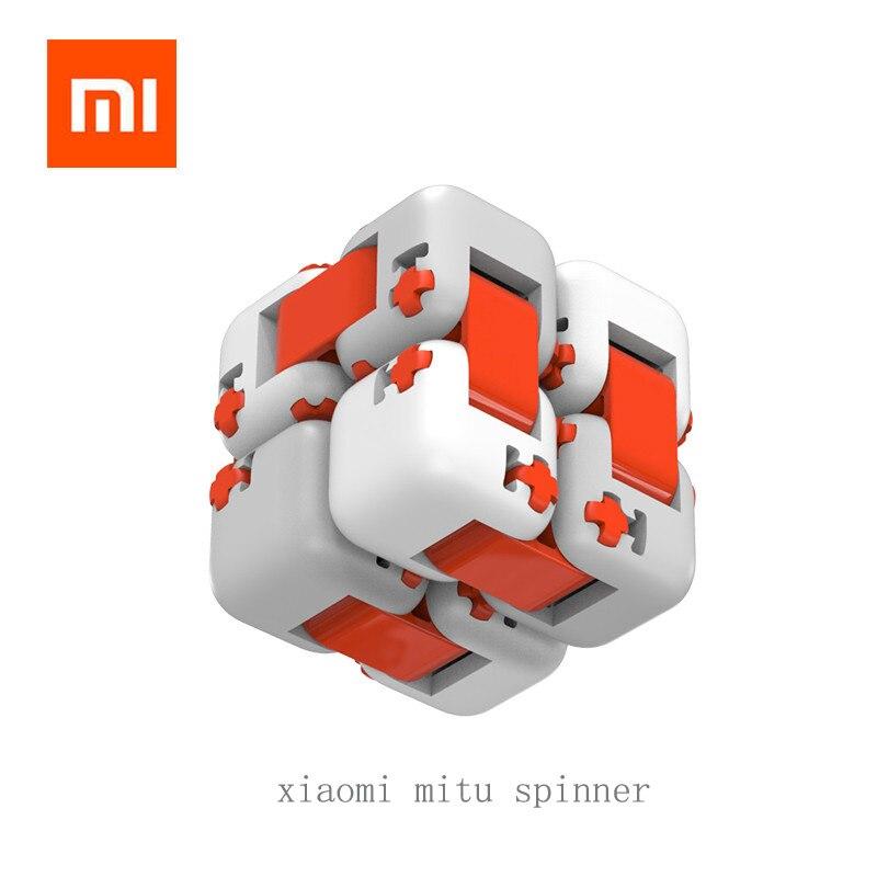 Original xiaomi mitu Spinner Dedo Brinquedos Dedo Brinquedos Tijolos de Inteligência Inteligente Portátil Para xiomi smart home Presente para o Miúdo