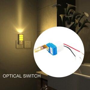 Image 4 - Mayitr interruptor de luz de rua automático, ac 12v 24v 220v, interruptor de luz de rua automático à noite, fora do dia, sensor fotocontrole interruptor do sensor