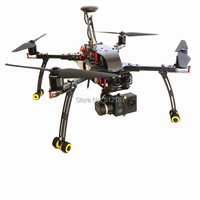 DIY FPV drones DH410 folding 3K pure carbon quadcopter frame with landing gear upgrade
