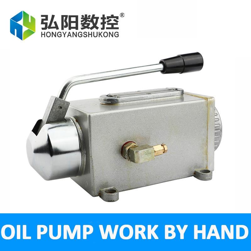 Egy sor kenőolaj szivattyú kézzel működtetett cnc router - Famegmunkáló gépek alkatrészei - Fénykép 2