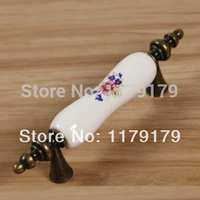 76mm keramik küchenschrank griff bronze schublade kommode pull shiny ...