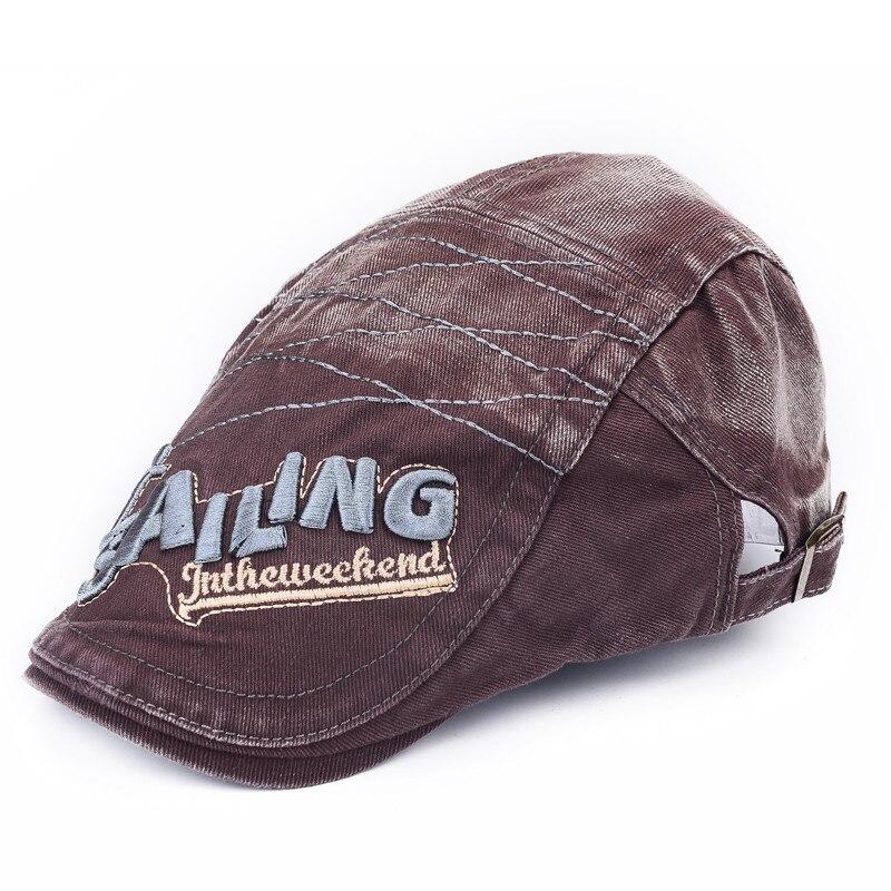 Hats Casquette-Cap Berets Boinas Classic Ajustable Women Summer New-Fashion Denim Spring