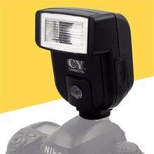 Mini phổ máy ảnh flash speedlite w/cổng pc sync cho canon nikon olympus sony a7 a7r a7sii a7ii nex a6000 a6300 A6500