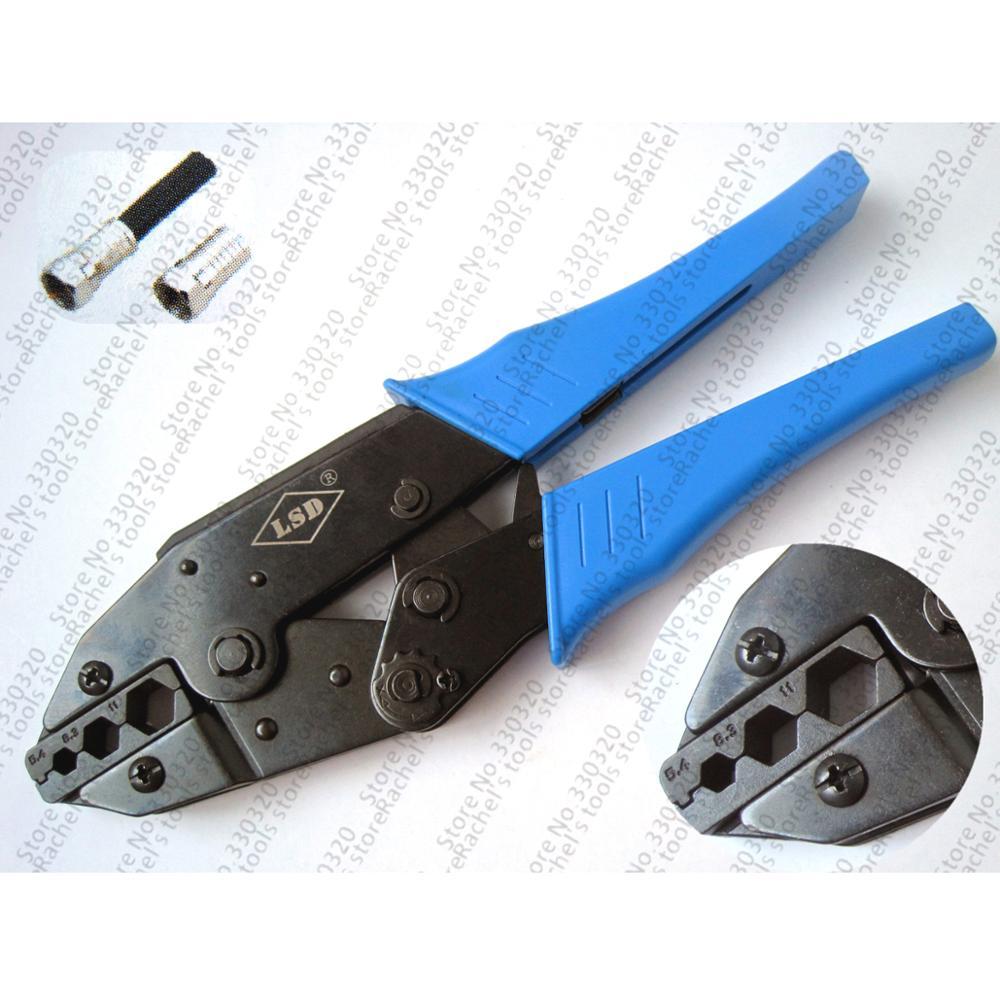 LS-457 Coaxial Crimping Tools For Crimping Coax Cable Connectors RG6, RG58, RG11