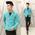 2017 Metrosexual new slim Korean version of the suit jacket leisure suit male British male small business suit X013 P85