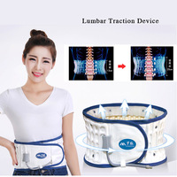 Lumbar Traction Device Waist Massager Spine Pain Relief Chiropractic Spinal Lumbar Back Massage Medical Support Traction