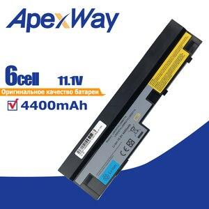Image 1 - 4400mAh 11.1v Batterie Dordinateur Portable pour Lenovo IdeaPad S100 S10 3 S205 S110 U160 S100c S205s U165 L09S6Y14 L09M6Y14 6 cellules